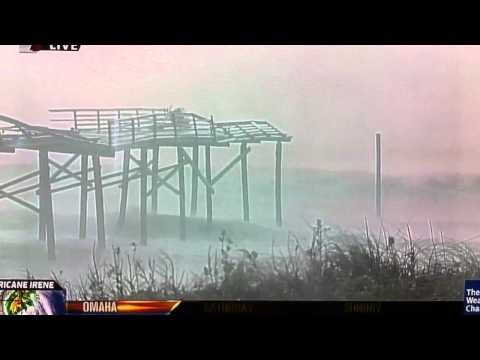 Hurricane Irene Fail – Weather Channel States The Obvious