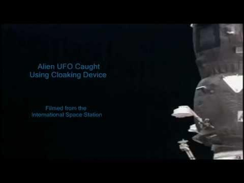 Alien UFO Caught On Video Using Cloaking Device