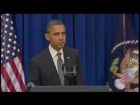 ‪Obama Kicks Door Open – Fake But Cool