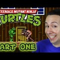 Retro Games – Teenage Mutant Ninja Turtles Nes Review #1 – Saved By The Shell